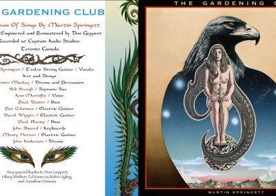 The Gardening Club CD copy