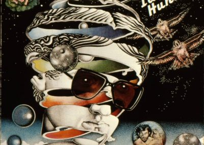 Ian Hunter's first solo album; created while living in London. Based on an M C Escher image.