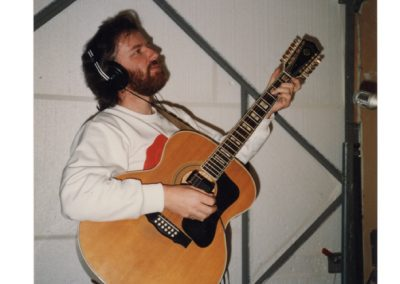 Recording in 1989, songs that would eventually find their way onto the Songs From The Greenhouse L P.